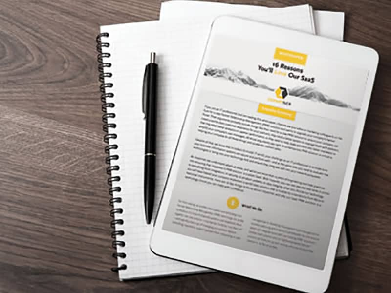 Resources - Whitepaper - 16 Reasons Your Network Will Love Our SaaS